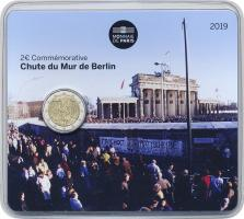 Frankreich 2 Euro 2019 Fall der Berliner Mauer Blister