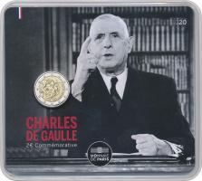 Frankreich 2 Euro 2020 Charles de Gaulle Blister