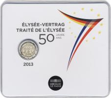 Frankreich 2 Euro 2013 Élysée-Vertrag im Folder