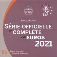 Frankreich Euro-KMS 2021