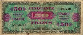 Frankreich / France P.122a 50 Francs 1944 (4)
