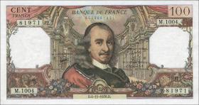 Frankreich / France P.149f 100 Francs 1976 (1-)