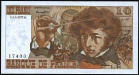 Frankreich / France P.150a 10 Francs 1974 Berlioz (1)