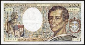 Frankreich / France P.155 200 Francs 1981-1994 (3)