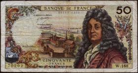 Frankreich / France P.148c 50 Francs 1970 (4)