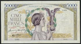 Frankreich / France P.097 5000 Francs 1942 (3)