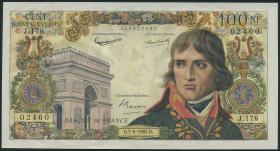Frankreich / France P.144 100 NF 1962 Napoleon Bonaparte (1/1-)