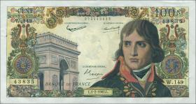 Frankreich / France P.144 100 NF 1962 Napoleon (1)