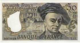 Frankreich / France P.152a 50 Francs 1979 (1)