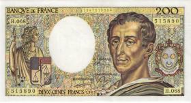 Frankreich / France P.155c 200 Francs 1989 (1)