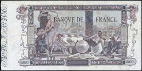 Frankreich / France P.076 5000 Francs 1918 (3)