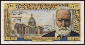 Frankreich / France P.141 5 Neue Francs 15.10.1959 (1)