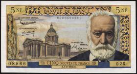 Frankreich / France P.141 5 Neue Francs 4.2.1960 (1)