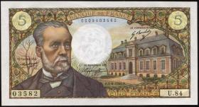 Frankreich / France P.146b 5 Francs 1.8.1968 (1/1-)
