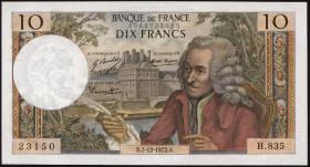 Frankreich / France P.147d 10 Francs 7.2.1972 (1)