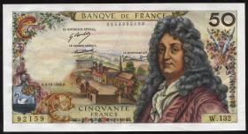 Frankreich / France P.148c 50 Francs 1968 (1-)