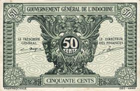 Franz. Indochina / French Indochina P.091a 50 Cents(1942)