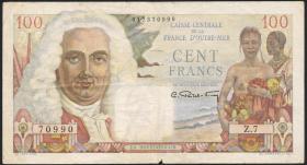 Fra.-Äquatorialafrika/F.Equatorial Africa P.24 100 Francs (1947) (4)
