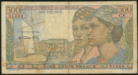 Frz.-Äquatorialafrika / F.Equatorial Africa P.25 500 Francs (1949) (4)