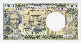 Frz. Pazifik Terr. / Fr. Pacific Terr. P.03a 5000 Francs (1996) (1)
