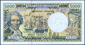 Frz. Pazifik Terr. / Fr. Pacific Terr.  P.03h 5000 Francs (1996) (1/1-)