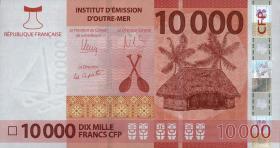 Frz. Pazifik Terr. / Fr. Pacific Terr. P.neu 10000 Francs (2014) (1)
