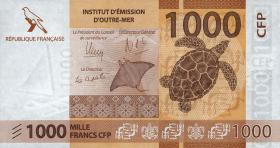 Frz. Pazifik Terr. / Fr. Pacific Terr. P.06 1000 Francs (2014) (1)