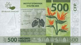Frz. Pazifik Terr. / Fr. Pacific Terr. P.neu 500 Francs (2014) (1)
