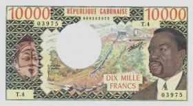 Gabun / Gabon P.05a 10000 Francs (1974) (1)