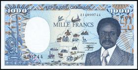 Gabun / Gabon P.10a 1000 Francs 1990 (1)