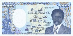 Gabun / Gabon P.10b 1000 Francs 1991 (1)