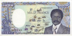 Gabun / Gabon P.10a 1000 Francs 1986 (1)