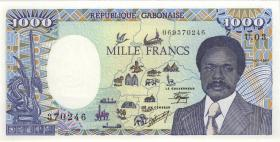 Zentralafrikanische Republik / Central African Republic P.016 1000 Fr. 1988 (1)