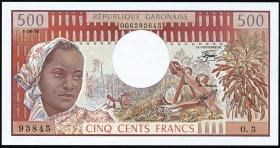 Gabun / Gabon P.02b 500 Francs 1978 (1)