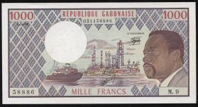 Gabun / Gabon P.03d 1000 Francs 1978 (1)