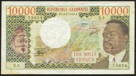 Gabun / Gabon P.05b 10000 Francs o.J. (3)