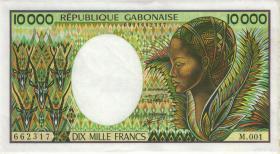 Gabun / Gabon P.07b 10000 Francs (1991) (2)