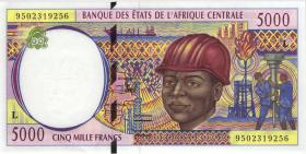 Gabun / Gabon P.404Lb 5000 Fr. 1995 (1)