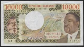 Gabun / Gabon P.05b 10.000 Francs (1978) (1)