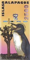 Galapagos 2500 Sucres 2009 Charles Darwin Polymer (1)