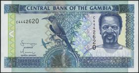Gambia P.22c 25 Dalasis (2001) (1)