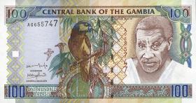 Gambia P.24c 100 Dalasis (2001) (1)