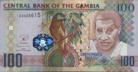 Gambia P.29c 100 Dalasis (2013) (1)