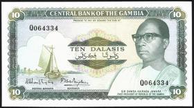Gambia P.10a 10 Dalasis (1987-90) (1)