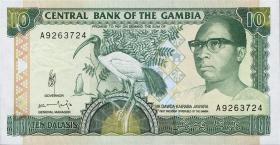 Gambia P.13a 10 Dalasis (1991-95) (1)