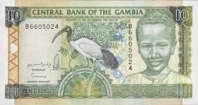 Gambia P.21a 10 Dalasis (2001) (1)