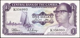 Gambia P.04d 1 Dalasi (1971-87) (1)