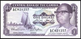 Gambia P.04g 1 Dalasi (1971-87) (1)