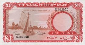 Gambia P.02a 1 Pound (1965-70) (1)