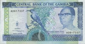 Gambia P.14a 25 Dalasis (1991-95) (1)
